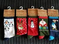 Ladies & Gents xmas socks