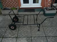 FISHING DOUBLE WHEEL BARROW