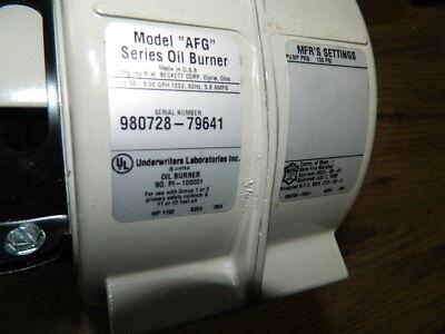 1 Beckett Afg B204 Ig29111 Oil Furnace Burner Housing Unit Waste Oil