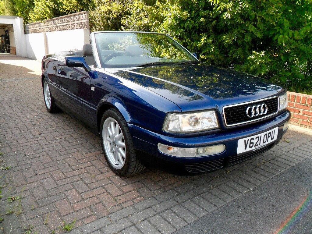 Audi 80 Cabriolet  1999 2 8 V6 Final Edition  59 000mls