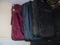 3 suit cases