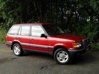 RANGE ROVER 4.6 HSE P38 AUTOMATIC RED WITH CREAM LEATHER MOT TO MAY 17 SPARES / REPAIRS OVERHEATING