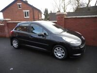 2007 peugeot 207 urban 14 hdi{1 owner,fsph,30 pounds tax,finance,warranty ava}