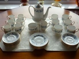 Royal Standard 'Trend' Blue Coffee/Tea Set