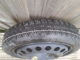 VAUXHALL ASTRA H,SPACE SAVER SPARE WHEEL