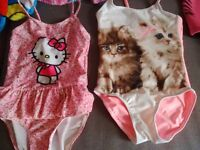 BUNDLE girls 2-4 Years swimming clothes incl. TWF wetsuit, excellent condition