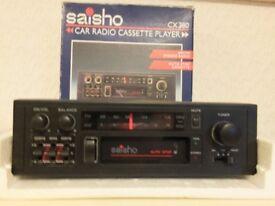 Car Radio/Cassette and Speakers