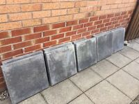 Grey garden slabs 450x450