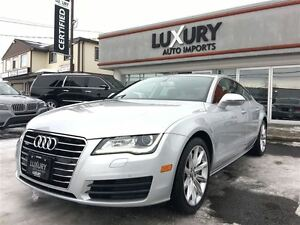 2012 Audi A7 3.0 T PREMIUM PLUS-NAVIGATION-ONLY 47K