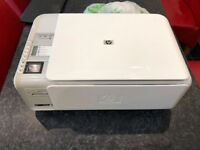 HP Photosmart C4380 WIFI Printer & Scanner - Includes new black cartridge
