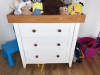 White Baby Dresser