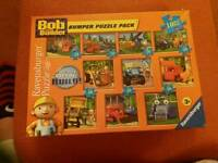 10 in 1 BOB THE BUILDER JIGSAW& 4 CHARACTERS