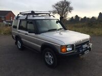 Land Rover discovery td5 (7 seater)