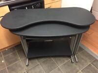 Black orbital desk