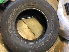 245/70r16 Goodyear wrangler hp Tyre