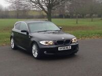 BMW 118d M sport 2008 58 with full history and xenon lights and leather