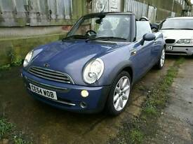 GORGEOUS MINI COOPER CONVERTIBLE, 74K FROM NEW