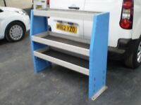 VAN - METAL RACKING SHELF UNIT