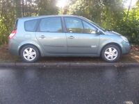 2005 RENAULT GRAND SCENIC 1.6 7/SEATER 48000 MILES MOT PART X