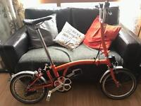 Brompton H3L folding bike