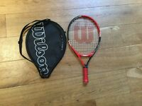 Wilson Junior tennis racket size 21 inch