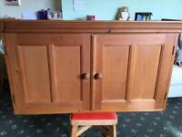 Pine cupboard very nice