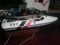 Nitro speed boat