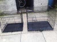 3 dog cages