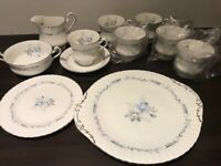 Vintage Paragon 21pc Bone China Teaset