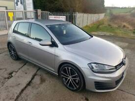 2014 VOLKSWAGON GOLF GTD 2.0 TDI 185 BHP 5 DOOR HATCHBACK SILVER