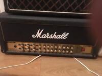 Marshall AVT 150h valvestate amp head