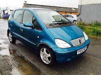 2003 52 MERCEDES a190 AUTOMATIC AVANDGARDE *** FULL LEATHER *** 88K ***