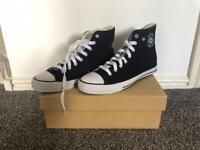 NEW - Lee Cooper High Top Canvas Converse Style Shoes