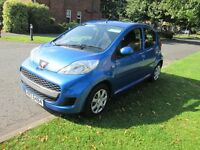 2011 peugeot 107 47,000 mls serv hist stamped to date mint mot,d no faults 5 dr £20 tax 65+ mpg