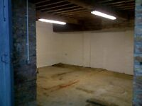 WORKSHOP/STORAGE near Swindon. 400 square feet within former stable and character property