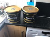 2x tubs of protein powder