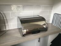 Brabantia Bread Bin, stainless steel, little used