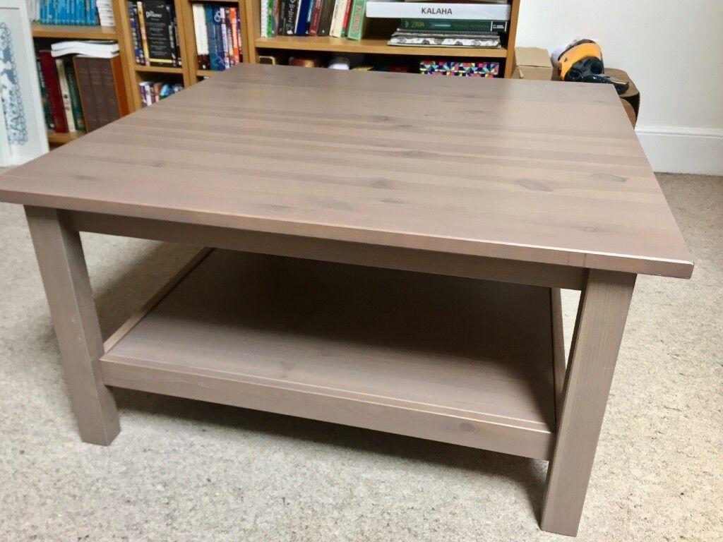 Swell Ikea Hemnes Coffee Table 90X90Cm Grey Brown In Clifton Bristol Gumtree Cjindustries Chair Design For Home Cjindustriesco