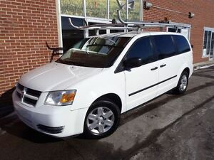 2010 Dodge Grand Caravan C/V, Ex-Bell, Rack Inclus,4 en inventai