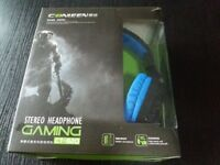 Gaming Headphone Over ear Headset PC Laptop Computer