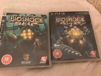 PS3 BIOSHOCK 1 & 2