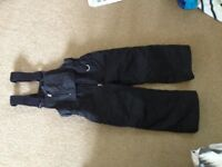 Kids Ski Trousers / Salopettes (Worn once!)