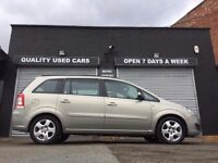 VAUXHALL ZAFIRA 1.6 EXCLUSIVE PETROL 2008 08 PLATE MANUAL, 7 SEATER
