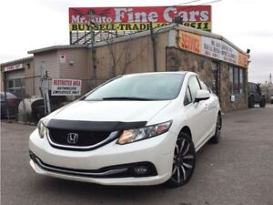 2013 Honda Civic Touring| Navigation| Leather| No accidents