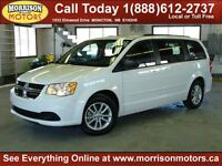 2014 Dodge Grand Caravan DVD SXT Stow n' Go! $22995!