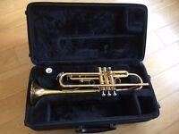 Yamaha Trumpet 2330 + Backpack Case + Practice Mute
