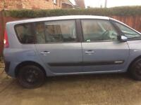 Renault espace auto 7 seater with mot