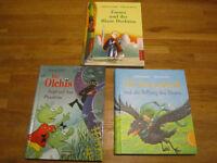 3 GERMAN books for kids, 5+years - 3 Deutsche Kinderbücher ab 5Jahren