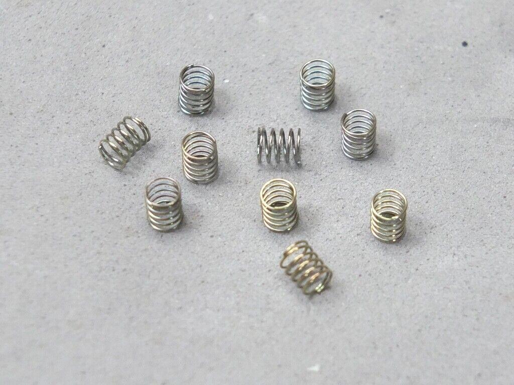 Car Parts - HO Slot Car Parts - HCS AMG - T-Jet Style Pick Up Shoe Springs Lot of 5 Sets