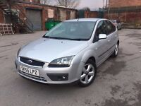 55 plate - new shape ford focus - zetec climate - one year mot - clean car - good drive